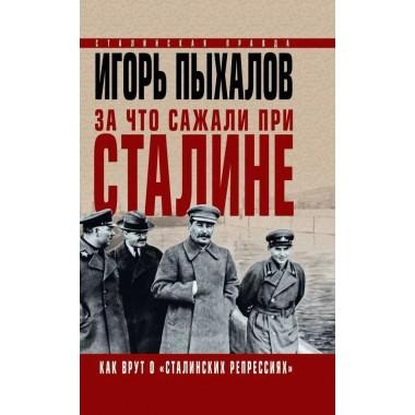 За что сажали при Сталине. Как врут о «сталинских репрессиях». Пыхалов И.В.